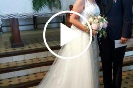 Una pareja se casa en Mallorca con el himno del Athletic de Bilbao como marcha nupcial