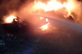 Segundo incendio en las últimas horas en un solar de sa Indioteria
