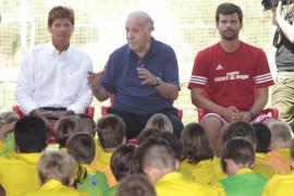 Del Bosque: «Quizá al Mallorca esa caída al pozo le venga bien»
