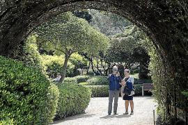 Más de 35.000 personas han visitado los jardines de Marivent desde su apertura