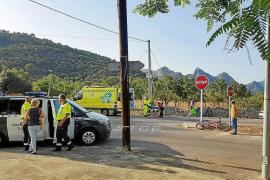 Herido un ciclista en un accidente en Palmanyola