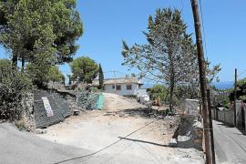 Vecinos de Génova denuncian que se construye un chalet con helipuerto