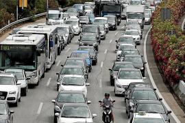 El tráfico en la vía de cintura bate récords y ya supera los 180.000 vehículos diarios