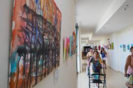 'Los artistas de Apfem' exponen sus obras en Sa Residencia (Fotos: Marcelo Sastre).