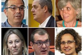 Puigdemont agradece la «lealtad» a los consellers salientes y los nuevos eluden prometer Constitución