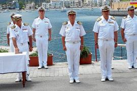 Francisco Peñuelas toma posesión al frente de la Base Naval de Sóller