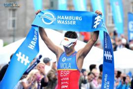 Mario Mola gana en Hamburgo por segundo año consecutivo
