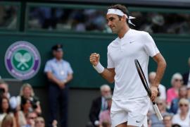 Federer se impone a Cilic y logra su octavo Wimbledon