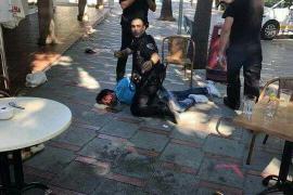 Un hombre armado con una escopeta hiere a tres personas y provoca el pánico en un bar de Peguera