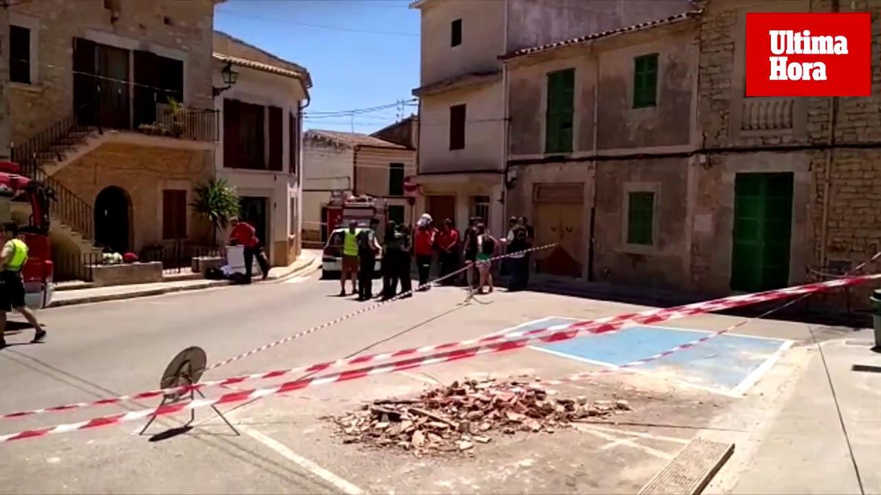 Fallece un trabajador y otro resulta herido tras desplomarse el techo de una casa en Santanyí