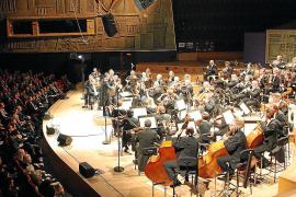 La Simfònica repite en el «mágico» y solidario 'Concert de la Lluna a les vinyes'