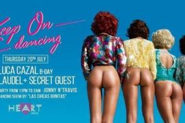 Cartel del restaurante Heart Ibiza