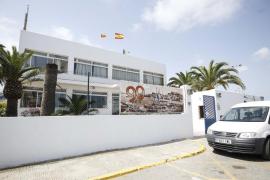 Imágenes del Club Náutico de Ibiza, cuya concesión se debate hoy