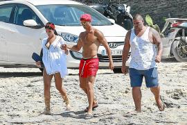 Cristiano Ronaldo disfruta de sus últimos días de vacaciones entre Ibiza y Formentera