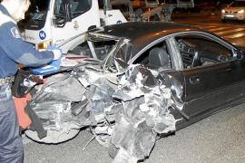 Detenido un conductor que triplicó la tasa de alcoholemia tras chocar en el Passeig Marítim