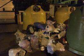 Vecinos de Llucmajor se quejan del servicio de recogida de basura