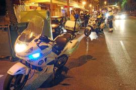Detenidos dos hombres por intentar agredir a unos agentes de la Policía Local