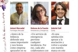 Antoni Mercadal, Dolores de la Fuente y Gabriel Coll