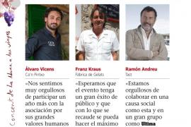 Álvaro Vicens, Franz Kraus y Ramón Andreu