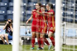 La selección femenina, con la mallorquina Mariona Caldentey titular, debuta en la Eurocopa con victoria