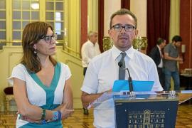 PSIB y MÉS advierten a Podemos de que su voto con el PP «tendrá consecuencias»