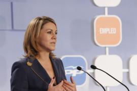 Cospedal dice que los españoles dirán «bye bye» a ZP en las próximas elecciones