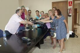 Los estanqueros de Palma devuelven las máquinas de recarga de las tarjetas ciudadanas y critican el «silencio» de Cort