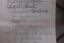 El juez muestra a Gijón el dietario del prostíbulo en el que aparece su nombre