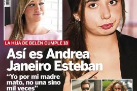 Así es Andrea Janeiro, hija de Belén Esteban y Jesulín de Ubrique
