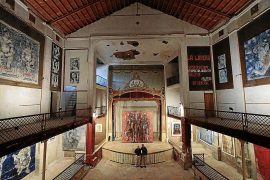 El Ajuntament de Sóller pide al Govern 500.000 euros para rehabilitar el teatro Defensora