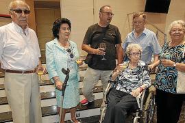 Homenaje a los músicos veteranos de la Orquestra Simfònica