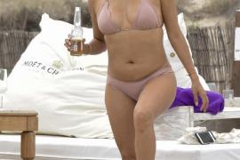 Eva Longoria disfruta de sus vacaciones en Ibiza