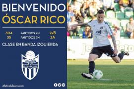 El Atlético Baleares anuncia el fichaje de Óscar Rico