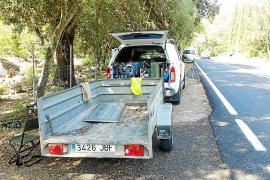 El Consell entrará el lunes en la finca del exalcalde de Pollença para abrir la carretera vieja de Lluc