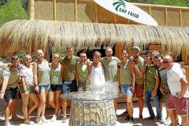 El Cap Falcó, un chiringuito de diseño y ambiente natural
