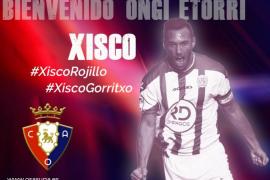 El exmallorquinista Xisco Jiménez, nuevo jugador de Osasuna