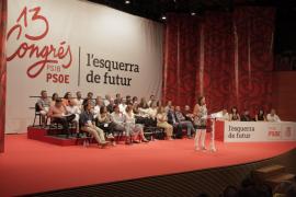 Armengol asegura que los socialistas son la izquierda «responsable» y de «futuro»