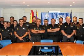 La Policía Nacional se refuerza en Mallorca con 30 agentes en prácticas