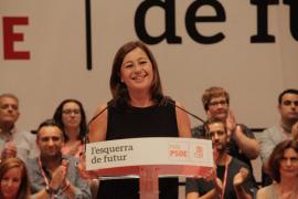 Armengol, ratificada como secretaria general del PSIB con el 85,11% de los votos