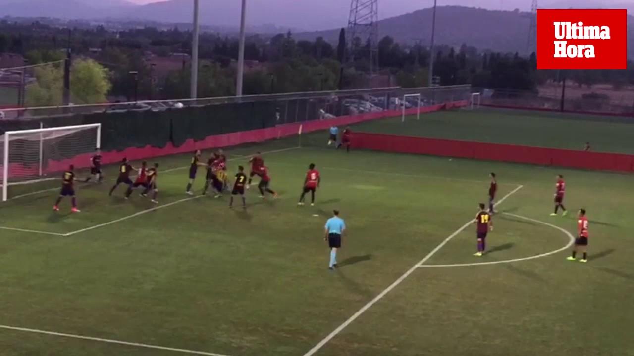 Rufo endulza el estreno de la pretemporada del Real Mallorca