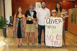 Noguera se solidariza con el Jardi d'Epicur y se ofrece a mediar