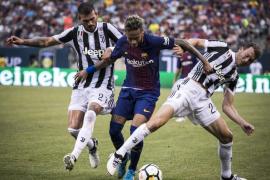 El Barcelona se estrena en pretemporada con victoria gracias a un doblete de Neymar