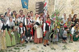 Moscari venera a Santa Anna con la tradicional 'Festa des Fadrí'