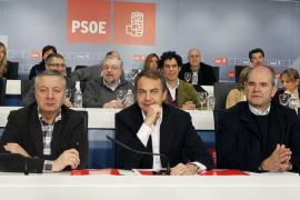 """Zapatero arenga al PSOE a salir a ganar: """"Sabemos ganar al PP y a las encuestas"""""""