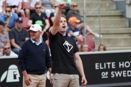Un nazi irrumpe en Suecia en un partido entre David Ferrer y Fernando Verdasco