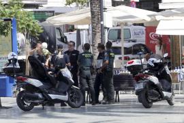 Operativo policial en Sant Antoni contra la venta ambulante