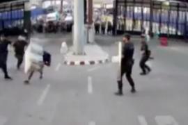 Hiere con un cuchillo a un policía en la frontera de Melilla al grito de «Alá es el más grande»
