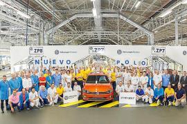 Volkswagen Navarra ya produce el nuevo Polo