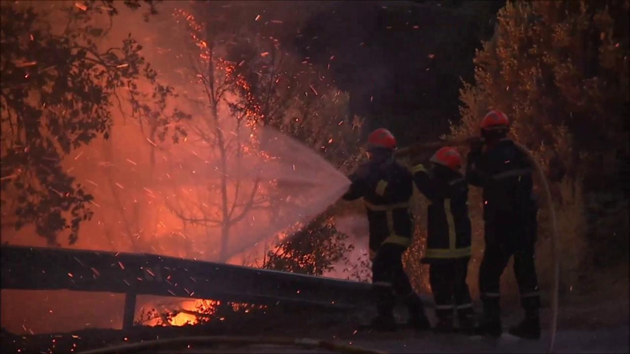 Cerca de 10.000 personas han sido evacuadas en el sureste de Francia por un incendio