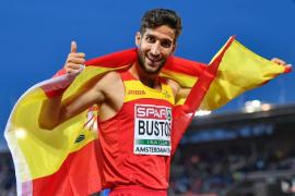 David Bustos, incluido en la lista de 47 atletas españoles para el Campeonato del Mundo de Londres
